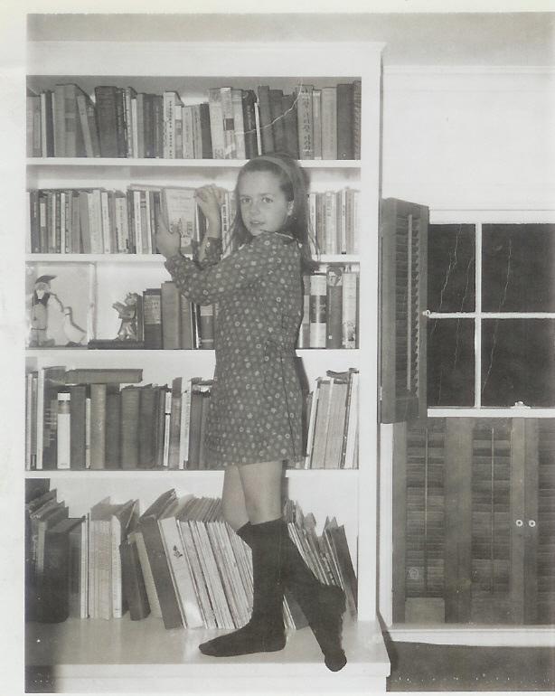 Lisa and books